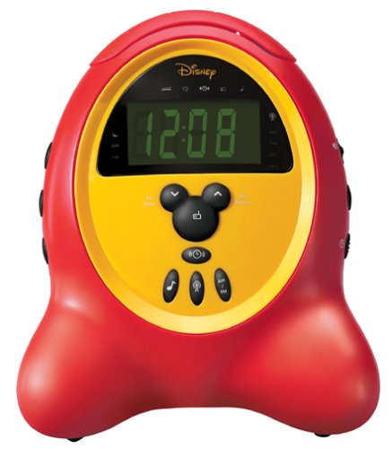 Disney by Memorex DCR5000C Alarm Clock Radio (Classic) (Discontinued by Manufacturer)