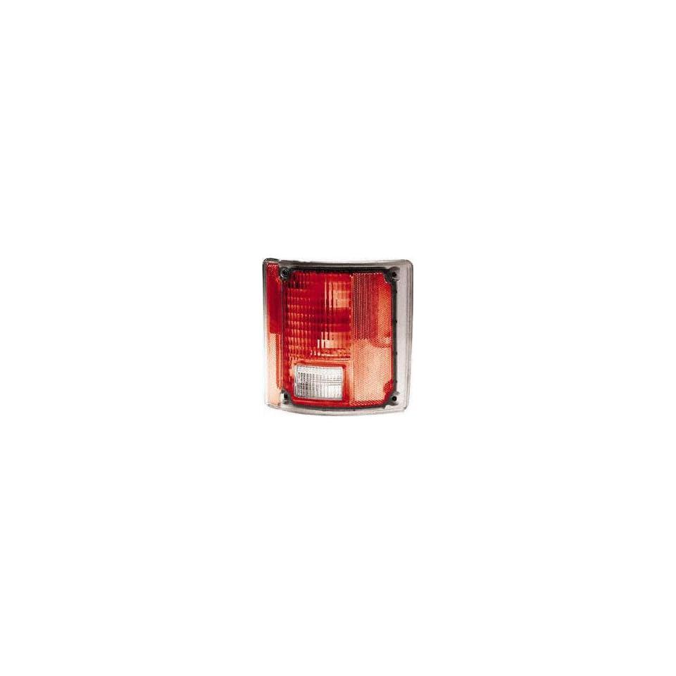 73 91 CHEVY CHEVROLET SUBURBAN TAIL LIGHT RH (PASSENGER SIDE) SUV, w/o