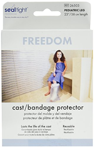 Seal Tight Freedom Cast and Bandage Protector, Best Watertight Protection, Pediatric Leg 23 (Freedom Leg Bag)