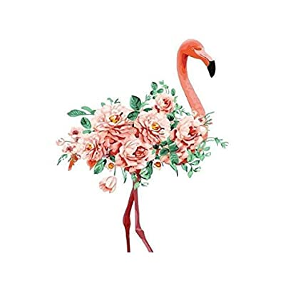 Amazon Com Diy Paint By Numbers Kit For Adults Pink Flamingo
