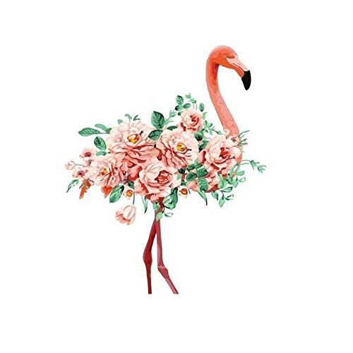 DIY Paint by Numbers Kit for Adults - Pink Flamingo |