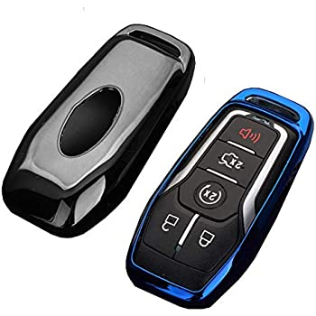 Amazon.com: Carmonmon - Carcasa para llave de Lincoln Ford ...