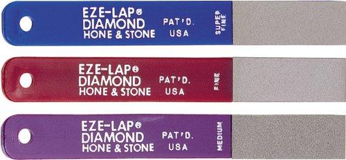EZE-LAP L PAK Set SF/F/M Color Coded Diamond (Diamond Set Knife)