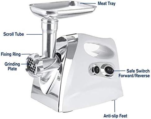 Viande électrique Hachoir Chopper saucisse Maker nourriture hachoir amovible 220 V 2800W Machine-outils