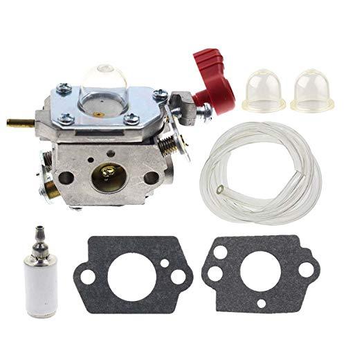 Carbhub C1U-P27 Carburetor for Murray MS2550 MS2560 MS9900 Trot-Bilt TB2040XP TB2044XP TB2MB TB430 Craftsman 316791020 316791160 316990080 Trimmer Tiller Replaces Zama C1U-P27 MTD 753-06288