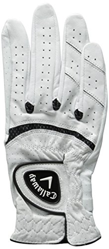(Callaway 2014 Apex Tour Glove Mens Right White Medium/Large 1)