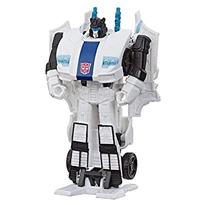 Transformers Toys Cyberverse Action Attackers: 1-Step Changer Autobot Jazz Action Figure: Toys & Games