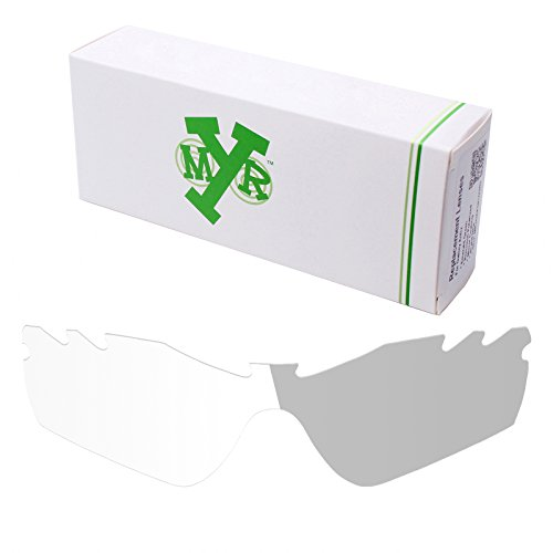 Mryok UV400 Replacement Lenses for Oakley Radar Path Vented - Eclipse Grey - Radar Path Photochromic