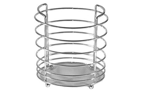 Kitchen Utensil Holder - Utensil Organizer - Stainless Steel Cookware Cutlery Caddy by BNYD