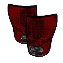 Spyder Auto ALT-ON-TTU07-LED-RS Toyota Tundra Red/Smoke LED Tail Light