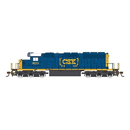 HO Scale Model Railroad Trains Engine CSX SD-40-2 Locomotive