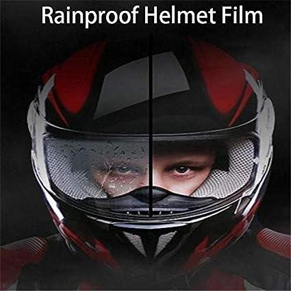 Universal Motorcycle Helmet Shield Anti Fog Film 23.5cmX7cm Patch Clear Visor Lens Film Anti-Fog Protective Film For Cycling Safety Helmet Aemiy Anti Fog Film for Helmet