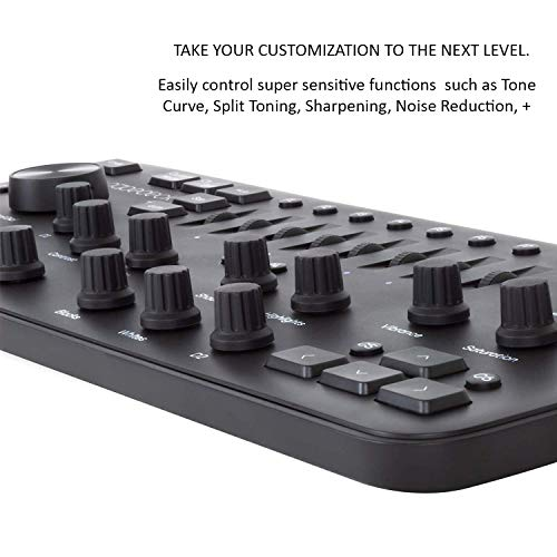 Loupedeck+ Plus Photo and Video Editing Console and Keyboard for Adobe Lightroom, Adobe Photoshop CC, Premiere Pro CC, Skylum Aurora HDR and More by Loupedeck (Image #4)