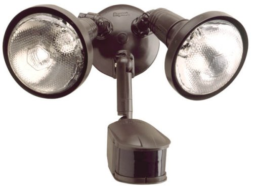 All-Pro MS245R 240 Degree 300W PAR Motion Security Floodlight with Reflectors, Bronze by All Pro