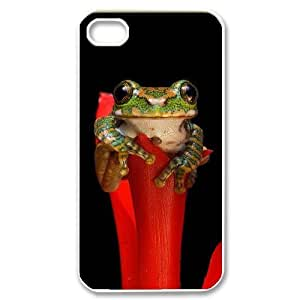 Frog DIY Cover Case for Iphone 4,4S,personalized phone case ygtg531426