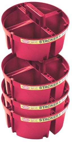 Bucket Boss Brand 15054-CS04 4-Piece Super Stacker Kit