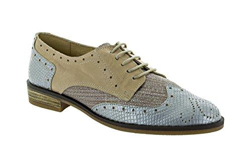 Blucher VALERIA Mujer 62-10512 Silver/Taupe
