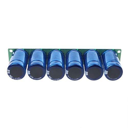 Ocamo 6Pcs Farad Capacitor 2.7V 500F 35x60MM Super Capacitor with Protection Board