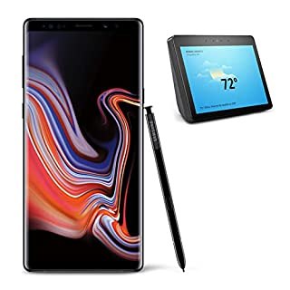 Samsung Galaxy Note 9 Unlocked Phone 512GB, Midnight Black with All-new Echo Show (2nd Generation)