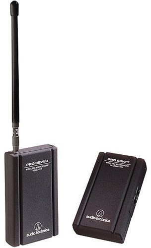 Mic Lavalier Vhf (Audio-Technica PRO 88W-R35 VHF Wireless Lavalier System with ATR35 Mini Omnidirectional Clip-On Microphone)