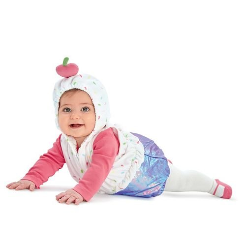 Carters Baby Halloween Costume Many Styles (3-6m, Cupcake (Cupcake Halloween Costume For Toddler)