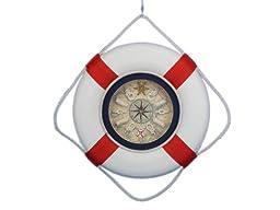 Hampton Nautical  Decorative Lifering Clock, 18\