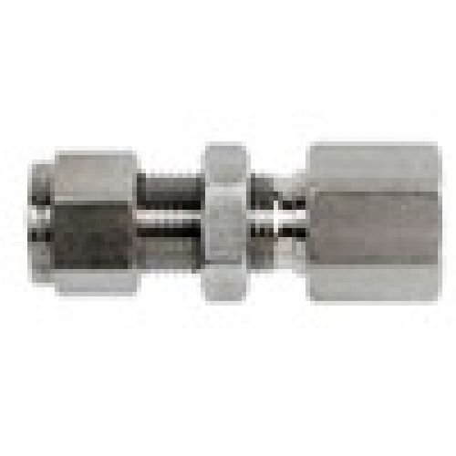 Brennan 6 Units 1//2 in Instrumentation x 1//2 in Female Pipe Stainless Steel Instrumentation Straight Adapter