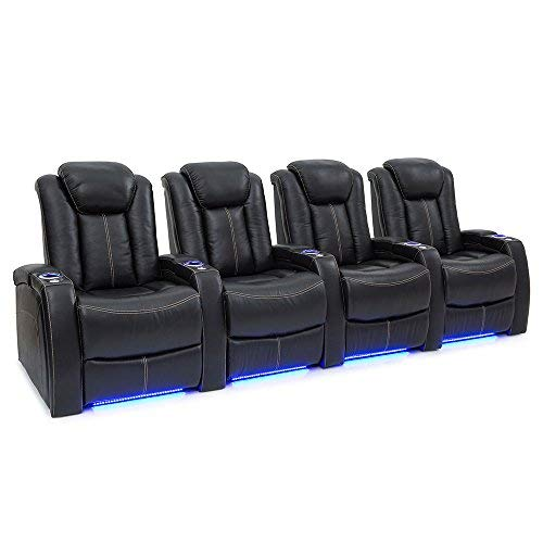 Seatcraft Delta Home Theater Seating Leather Power