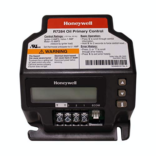 Honeywell Flame Control - Honeywell R7284U-1004 Electronic Oil Primary, 1, Color