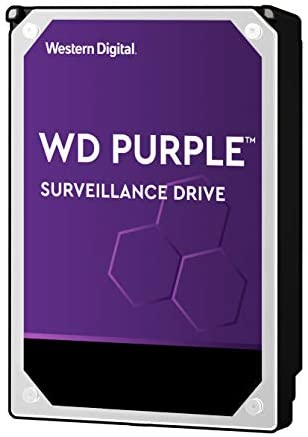 Purple 10TB Surveillance Hard Drive product image
