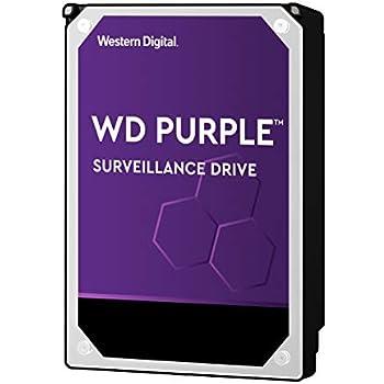 Amazon com: WD Purple 4TB Surveillance Hard Disk Drive - 5400 RPM