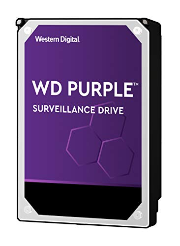 (WD Purple 4TB Surveillance Hard Drive - 5400 RPM Class, SATA 6 Gb/s, 64 MB Cache, 3.5