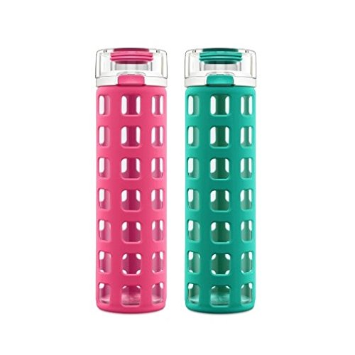 Ello 2 Pack Syndicate Glass Bottle product image