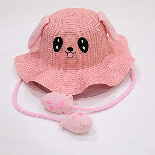 iBaste Sun Hat Movable Rabbit Ears Hat Airbag Toy Sunshade Hats Funny Cap for Kids Adult ()