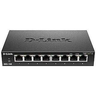 D-Link 8-Port Gigabit QOS Switch DGS-108 (B000BCC0LO)   Amazon Products