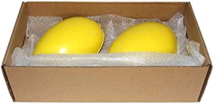 Set Of 2 Rotary Provendi Yellow Soap Refill For Screw Holder by Provendi