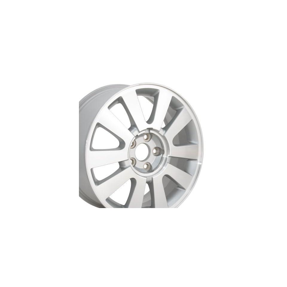 Factory Original Taurus 3700 OEM Wheel Machined Fits Ford   Silver 18x7.5