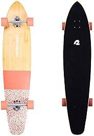 Retrospec Zed Longboard Skateboard Complete Cruiser   Bamboo & Canadian Maple Wood Cruiser w/Reverse Kingp