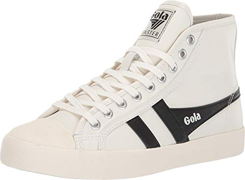High Leather Off-White/Black 8 B US ()