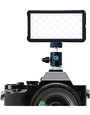 Lume Cube Paneel GO + DSLR-houder | Tweekleurig LED-licht | voor foto en video, contentcreatie, videolamp | voor Nikon, Canon, Sony, Fuji