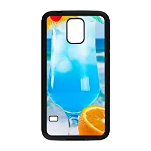 Samsung Galaxy S5 Cell Phone Case Covers Black Desktop Cocktail J1736750