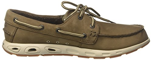 PFG Marrone da 255 Casual Uomo Leather Vent Scarpe Mud Bonehead Columbia Stone Sq08x8