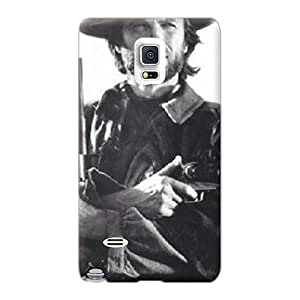 Samsung Galaxy Note 4 High Quality Hard Phone Case Allow Personal Design Attractive Clint Eastwood Pattern [ejl17557youP]