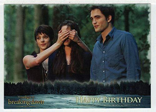 Happy Birthday (Trading Card) The Twilight Saga - Breaking Dawn Part 2-2012 NECA # 62 - Mint (Twilight Trading Cards)