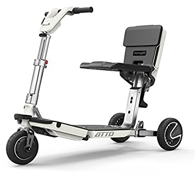 ATTO - The Electric Freedom Mobility Scooter, white