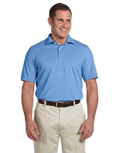 Ashworth Mens Combed Cotton Piqué Polo 3028C -BLUE S Combed Cotton Pique Golf Shirt