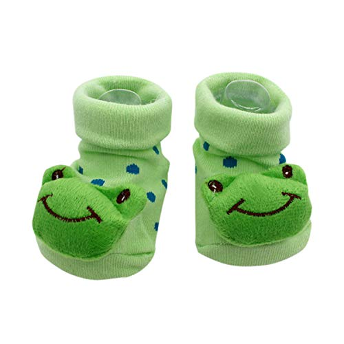Cute Baby Rattle Socks Kermit The Frog Theme 3-12 Months w/Gift Box