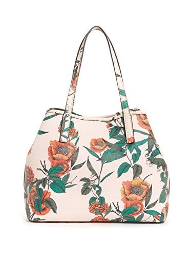 GUESS Vikky Green Set Women's Metal Floral Tote HpaHRrq