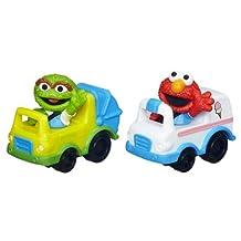 Playskool Sesame Street Racers (Elmo and Oscar)