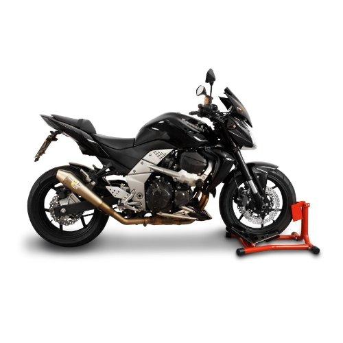 ConStands Easy Classic Motorradwippe Kreidler Supermoto 125 DD Rot f/ür Anh/änger Transportst/änder Montagest/änder Vorderrad